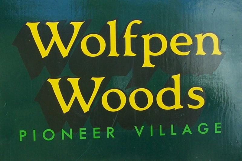 Wolfpen Woods Entrance Sign